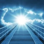 light at end of bridge
