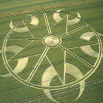 CropCirclePentagram2003