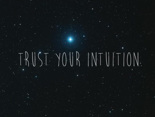 trust your intuition 2